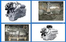 Двигатели Д65, 1Д6, ЯМЗ-236М2, ЯМЗ-238М2, А-650, ЗИЛ-131, ЗИЛ-157 с хранения