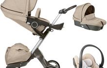 Stokke Xplory V3 полная коляска + люлька - полная версия