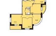 Продается 4-ком квартира . Ипотека 9,45%. Квартира расположе