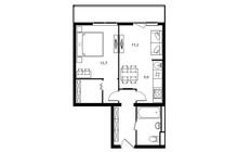 Продается 2-ком апартамент площадью 48 кв.м на 9 этаже 11 эт