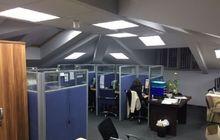 Помещение площадью 290 м2 на 3-м этаже (мансарда) в офисном