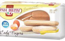 Хрустящее печенье Casa Dolcini, Дамские пальчики, 400г