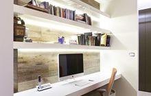 Мебельный профиль для полок, перегородок, с LED-подсветкой