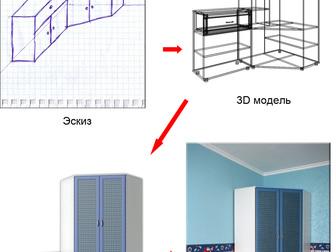 Просмотреть фото Производство мебели на заказ Изготовление мебели по индивидуальным размерам 31653154 в Москве