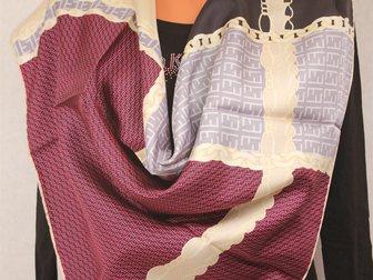 Уникальное фотографию Аксессуары платок Hermes шелковый 32384304 в Москве