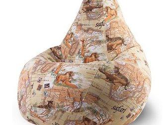 Скачать бесплатно фотографию  Продажа и аренда бескаркасной мебели (кресло мешки, пуфики, бин беги) 32467060 в Москве