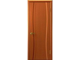 Увидеть фотографию Отделочные материалы Межкомнатная дверь фабрики Современные двери, Клеопатра 1, темный анегри, ПГ, 32475200 в Москве