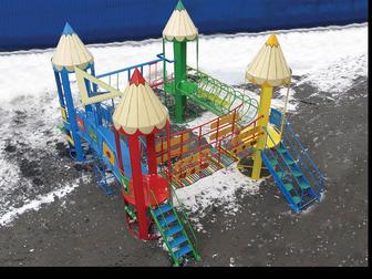 Новое изображение Спортивный инвентарь детские игровые площадки 32645247 в Москве