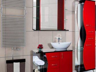 Уникальное фотографию Мебель для ванной Тумба с раковиной Bellezza Рио 90 32695643 в Москве