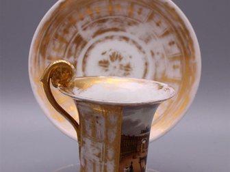 Скачать фотографию Посуда Чайная пара с видами Санкт-Петербурга 32720269 в Москве