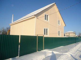 Смотреть фото  Коттедж, 220 м2, на участке 5 сот, , д, Сенькино-Секерино 32747379 в Москве