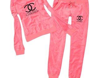 Смотреть foto Спортивная одежда Женский спортивный костюм от Chanel 32766288 в Москве