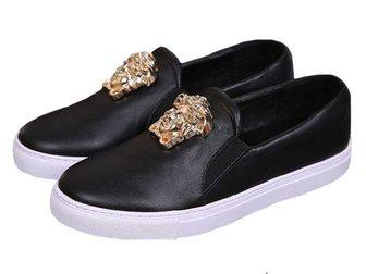 Свежее изображение Мужская обувь Кеды Versace Leather Medusa 32797639 в Москве