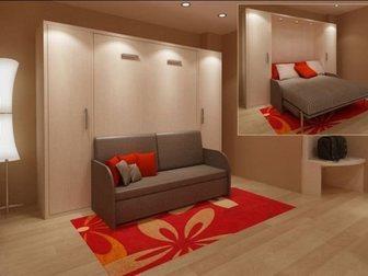 Просмотреть изображение Производство мебели на заказ Шкаф-кровать с диваном 32800974 в Москве