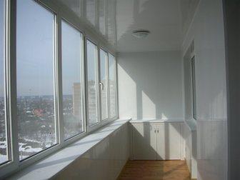 Просмотреть изображение Двери, окна, балконы Остекление лоджий,балконов, Отделка,утепление 32817303 в Москве