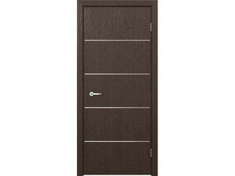 Увидеть изображение  Межкомнатная дверь Кредо, Модерн, ПДГ 103 венге, 32831516 в Москве