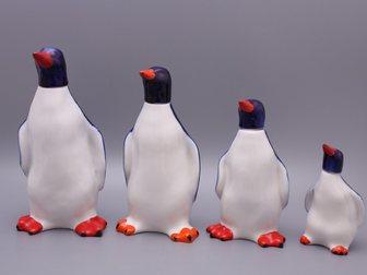 Скачать бесплатно foto  Набор графинов Пингвины, ЛФЗ, 1950-60 г, 32853698 в Москве