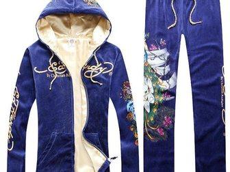 Уникальное foto Женская одежда Спортивный костюм ED Hardy Peacock 32874919 в Москве
