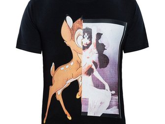 Новое изображение Мужская одежда Футболка Givenchy Bambi 32894113 в Москве