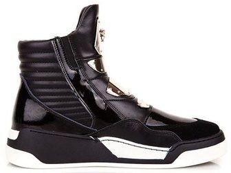 Просмотреть изображение Мужская обувь Сникерсы Versace Golden Plate High-Top 32968940 в Москве