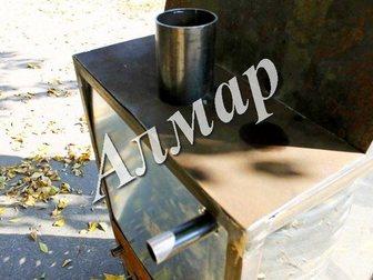 Смотреть изображение  Стеклянный спиральный дровяной водонагреватель для бассейна 32983543 в Москве