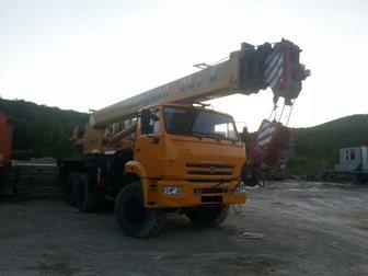 Скачать изображение  Продам автокран Галичанин КС-55713 32992220 в Краснодаре