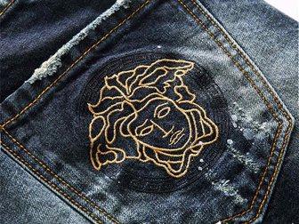 Смотреть фотографию Мужская одежда Джинсовые шорты Versace Torn 33052997 в Москве