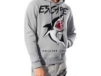 Свежее фотографию Спортивная одежда Мужской спортивный костюм Philipp Plein Shark 33110881 в Москве