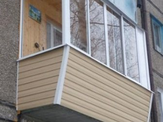 Смотреть изображение  Алюминиевое остекление балконов и лоджий, Изготовление окон ПВХ, 33130381 в Химки