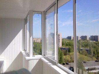 Просмотреть фотографию  Алюминиевое остекление балконов и лоджий, Изготовление окон ПВХ, 33130381 в Химки