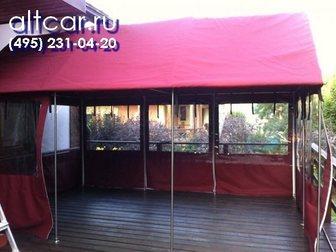 Уникальное фото Разные услуги Тенты и шатры для дачи 33165321 в Москве