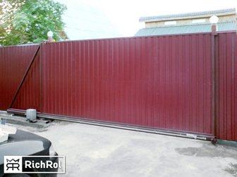Свежее foto Строительные материалы Автоматические распашные ворота для загородного участка 33254776 в Москве