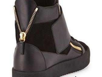 Просмотреть foto Мужская обувь Мужские сникерсы Giuseppe Zanotti High-Top 33290902 в Москве