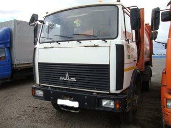 Скачать изображение  Купить б у мусоровоз МКЗ-3402 на шасси МАЗ-5337А2, 2012 год выпуска, в полностью исправном техническом состоянии 33308688 в Москве