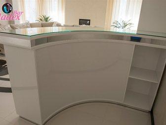 Свежее изображение Офисная мебель Стойка администратора с каркасом из качественного МДФ 33316885 в Москве