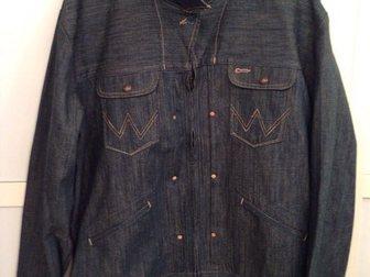 Увидеть изображение Мужская одежда Джинсовка Wrangler XL(50-52) 33605036 в Москве