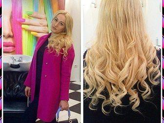 Смотреть фотографию Разное Наращивание волос , Ленточное наращивание , капсульное наращивание 33611729 в Москве