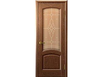 Скачать изображение  Межкомнатная дверь фабрики LUXOR, Лаура, мореный дуб, ПО, стекло бронзовое, 33642750 в Москве