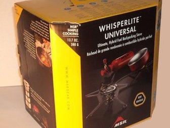 Увидеть фотографию  Мультитопливная горелка MSR WhisperLite Universal 33759150 в Москве