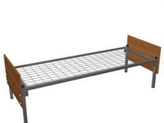 Свежее фотографию  Кровати металлические для лагеря, кровати для гостиницы, кровати оптом, кровати для рабочих, по низким ценам, 33837550 в Москве