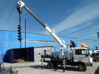 Скачать бесплатно фотографию Другие строительные услуги Закручивание винтовых свай ямобуром Nissan Diesel 33864029 в Москве