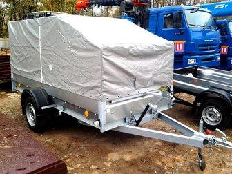 Новое foto Прицепы для легковых авто Трейлер 829450 (3, 2х1, 4) для перевозки снегохода 34016815 в Москве