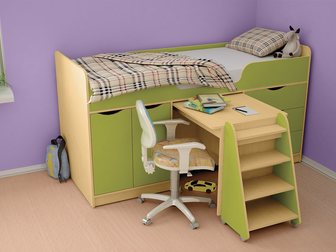 Скачать бесплатно foto Детская мебель Кровать для ребёнка 3-12 лет Караван 7 34023846 в Москве