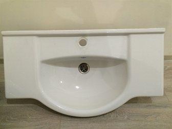Свежее фото Мебель для ванной Продаю раковину для ванной комнаты 34141916 в Москве