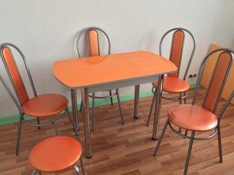 Смотреть изображение Кухонная мебель Стол обеденный для малой кухни 34225901 в Нижнем Новгороде