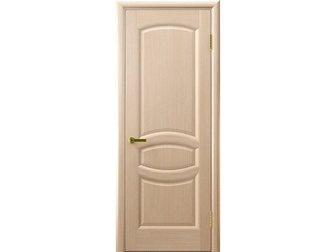 Скачать бесплатно foto  Межкомнатная дверь фабрики LUXOR, Анастасия, беленый дуб, ПГ, 34245986 в Москве