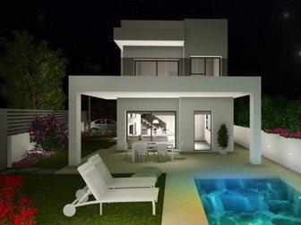 Просмотреть изображение  Недвижимость в Испании, Новая вилла рядом с пляжем от застройщика в Ла Марина 34277823 в Москве