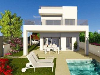 Уникальное фото  Недвижимость в Испании, Новая вилла рядом с пляжем от застройщика в Ла Марина 34277823 в Москве