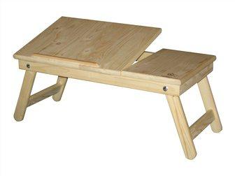 Свежее foto Комплектующие для компьютеров, ноутбуков Подставка для ноутбука и завтрака в кровать из натурального дерева 34428013 в Москве