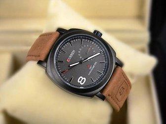 Свежее изображение  Часы Curren 8139 (черный циферблат) 34664691 в Москве